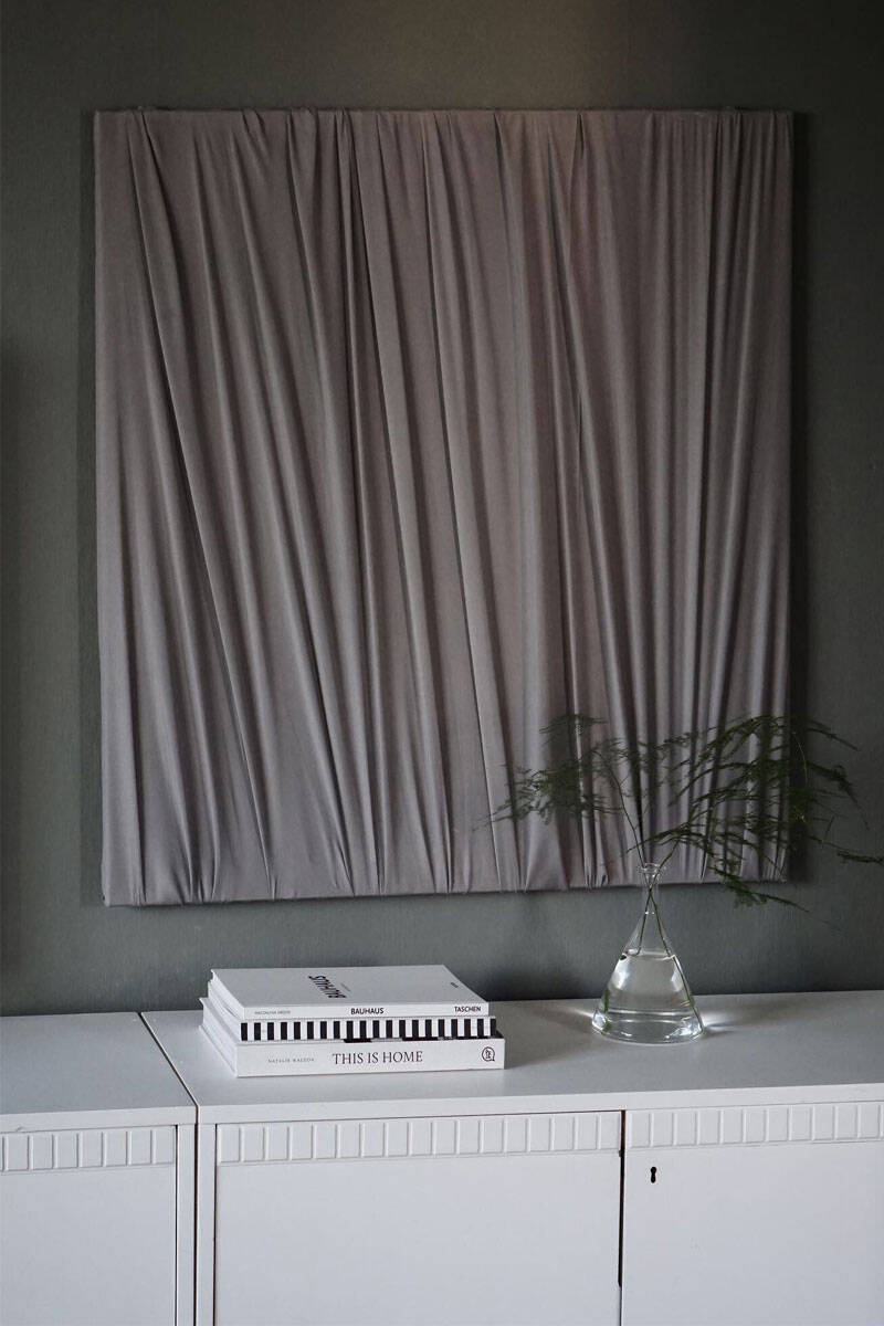 Nya DIY-trenden – inmålade eller textilklädda tavlor