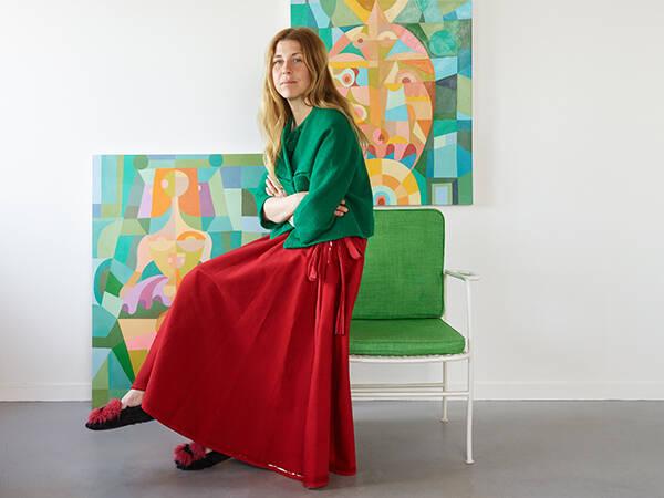Liselotte Watkins designar kollektion för Svenskt Tenn