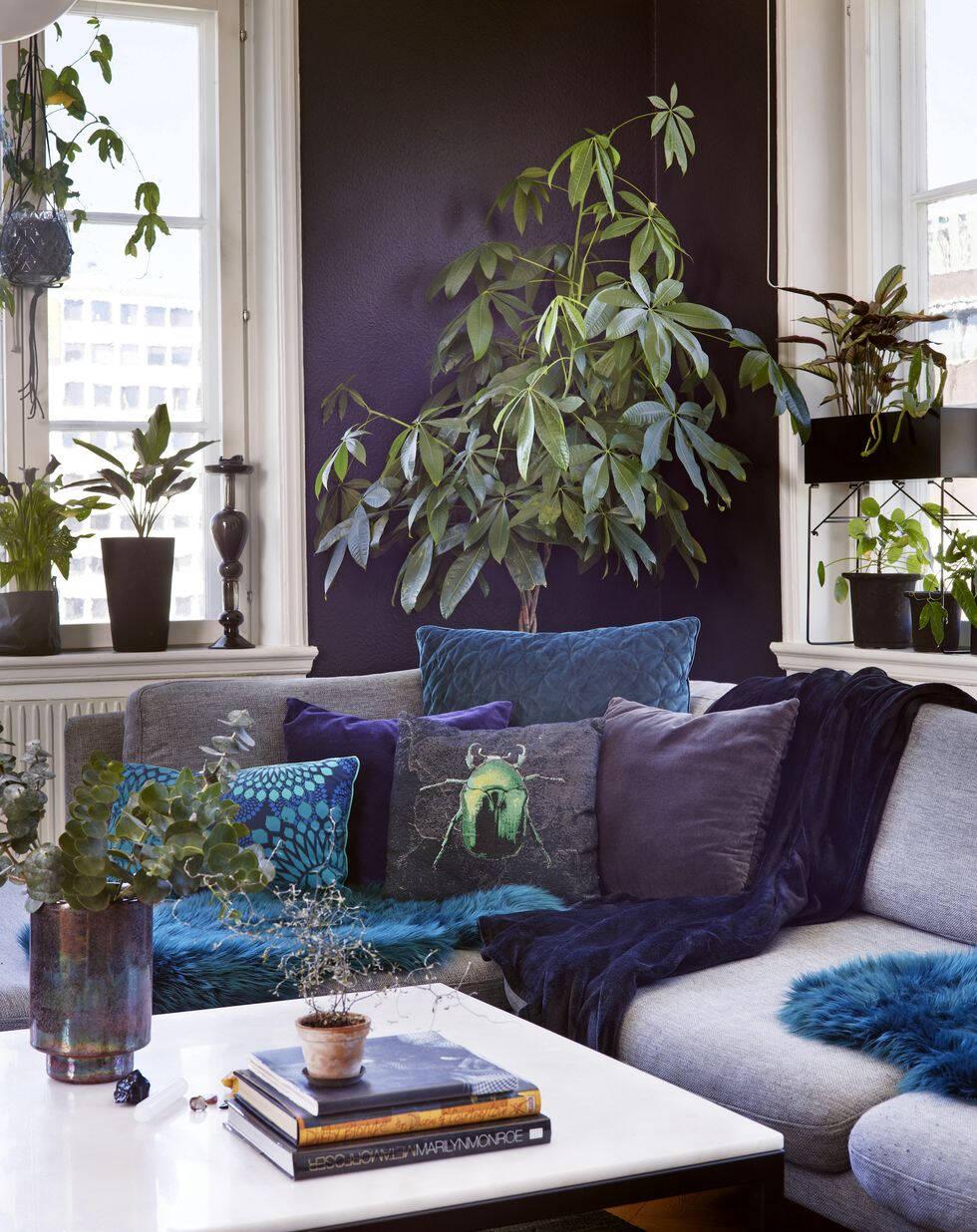 8 inspirerande exempel på hur du inreder med gröna växter