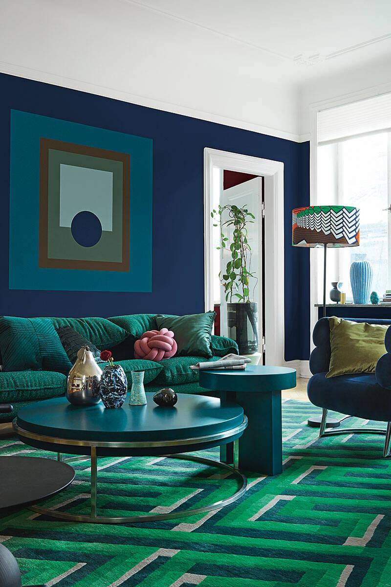Guide: Så placerar du möblerna på mattan