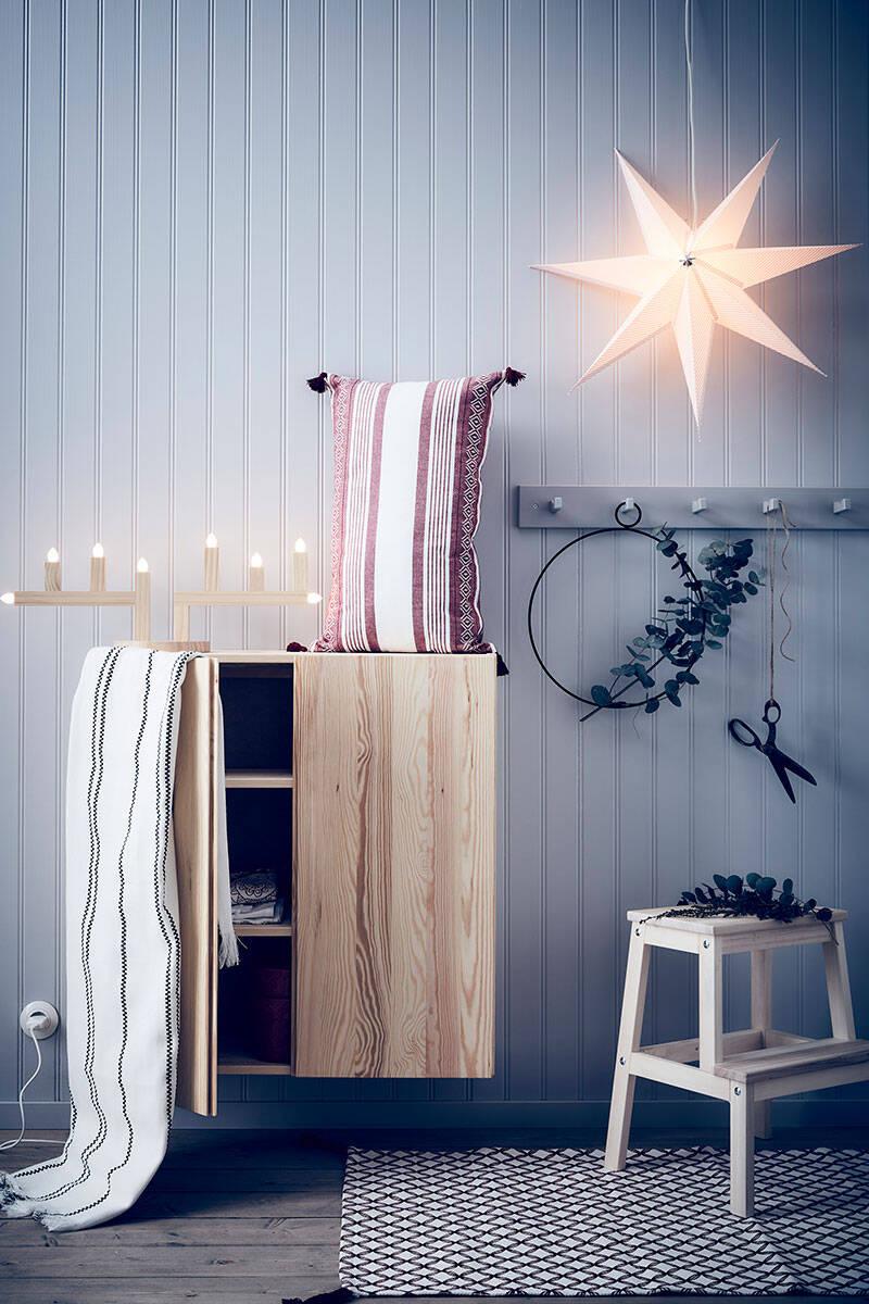 4 nya sätt att dekorera med adventsstjärnor