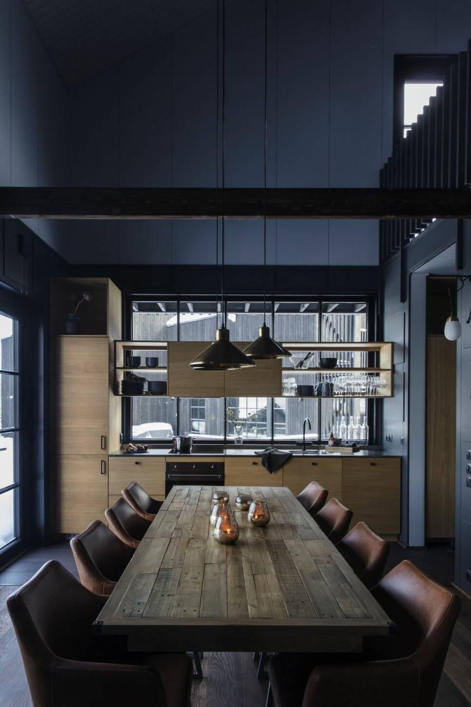 Det bästa av två världar – modernt arkitektritat hus med fjällstugecharm