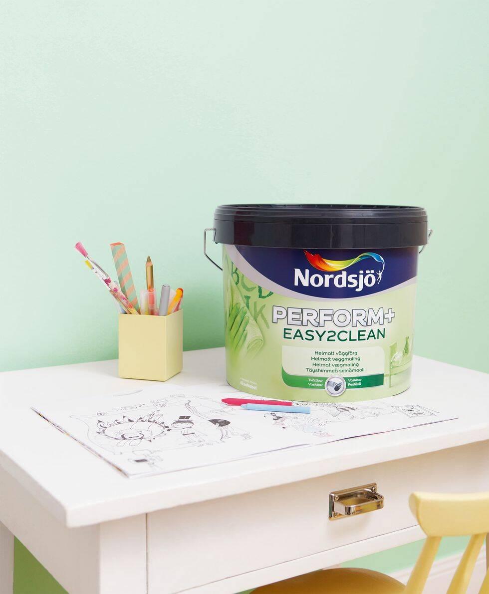Nytt år – ny färg! Tävla om ett presentkort på väggfärg