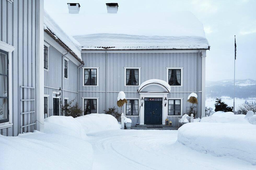 Vackraste vinterhemmet vi sett – vardagsrummet är verkligen inredningsmagi