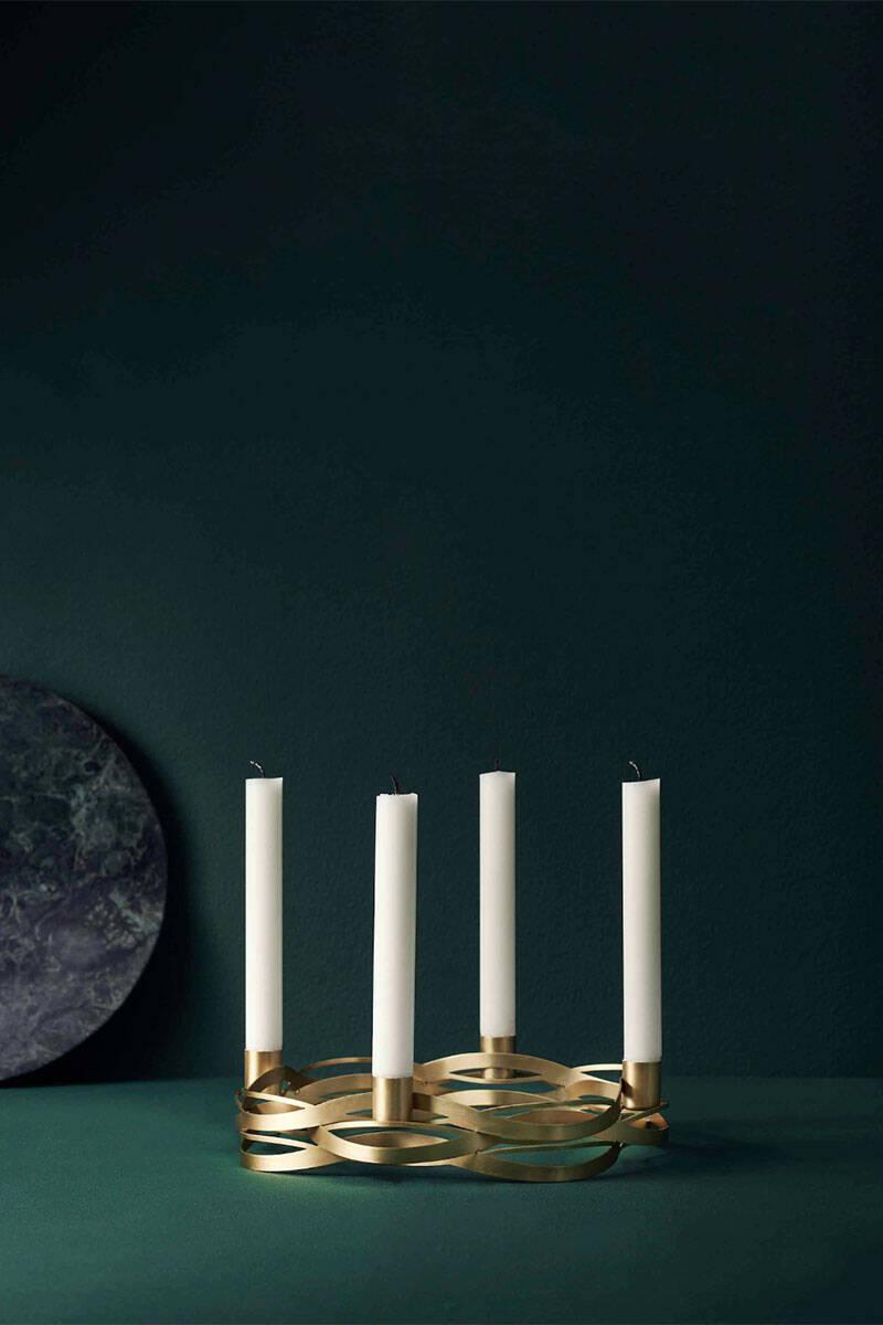 8 fina adventsljusstakar för levande ljus