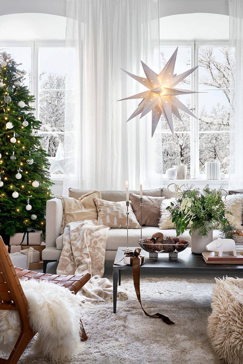 Inspiration: En vintervit jul