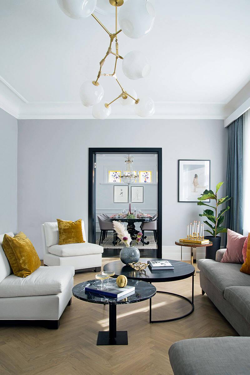 7 vackra vardagsrum – i 7 olika stilar