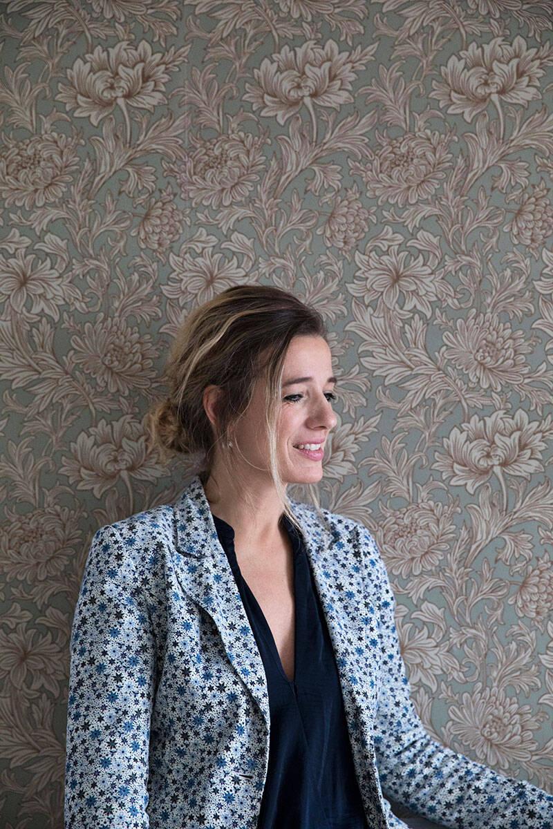 Kreativt och bohemiskt hemma hos designern i Paris