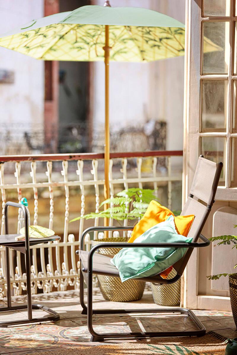 6 inspirerande idéer för en mysig balkong