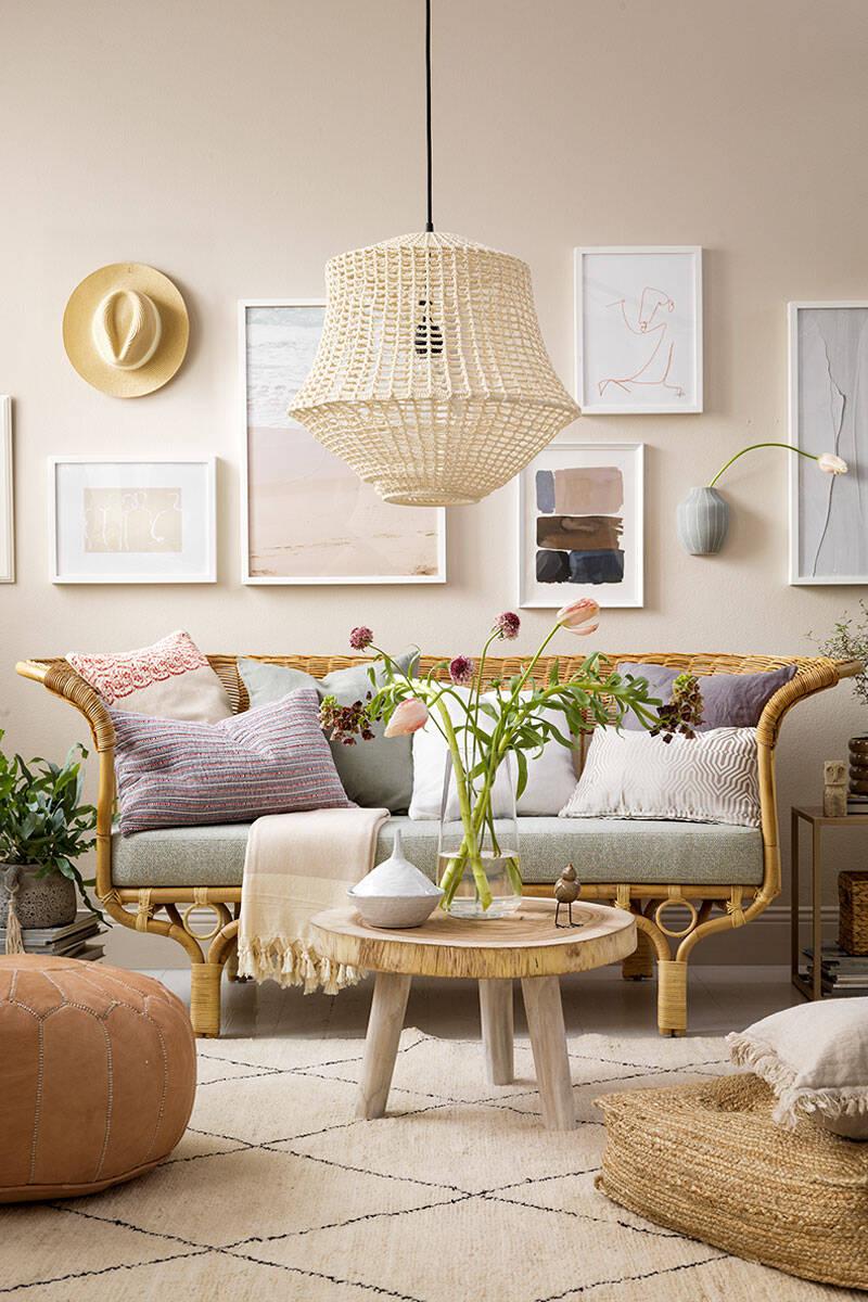 8 stylingknep för ett vackert vardagsrum