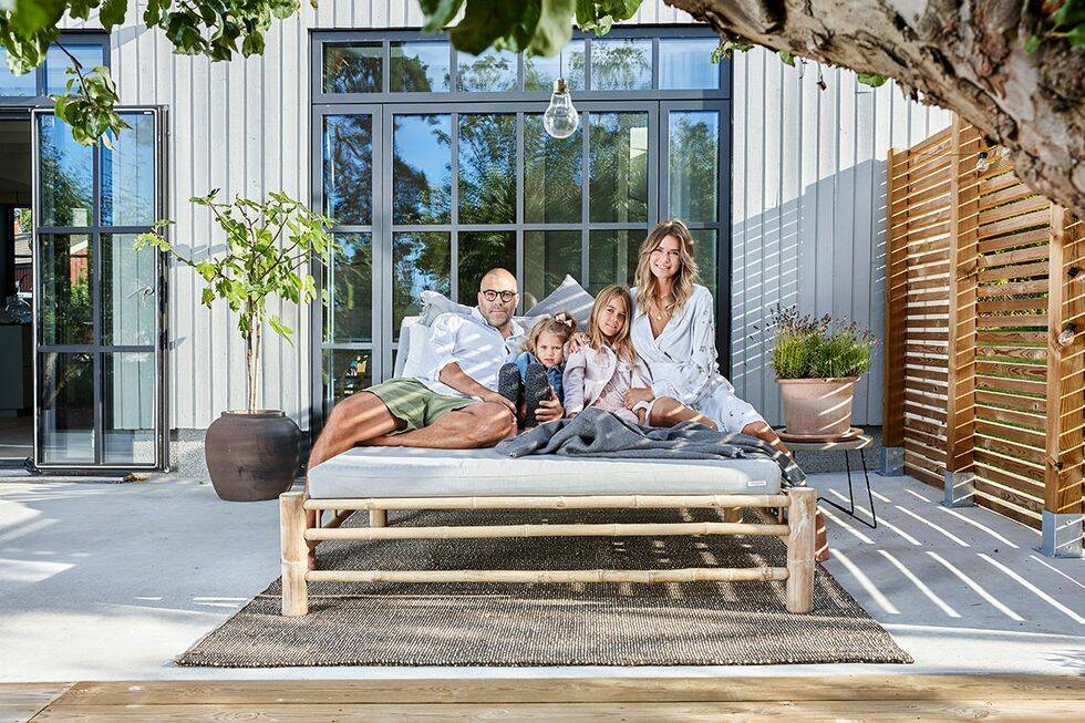 Modeskaparen Valerie Aflalos 5 bästa tips för terrassen