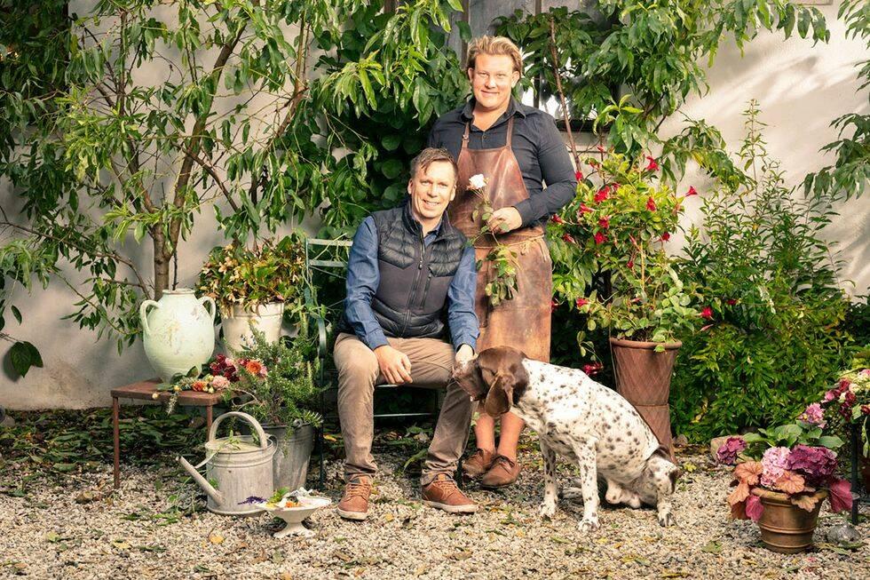 Trädgårdsprofilen visar upp sin trädgård på Österlen i nytt program