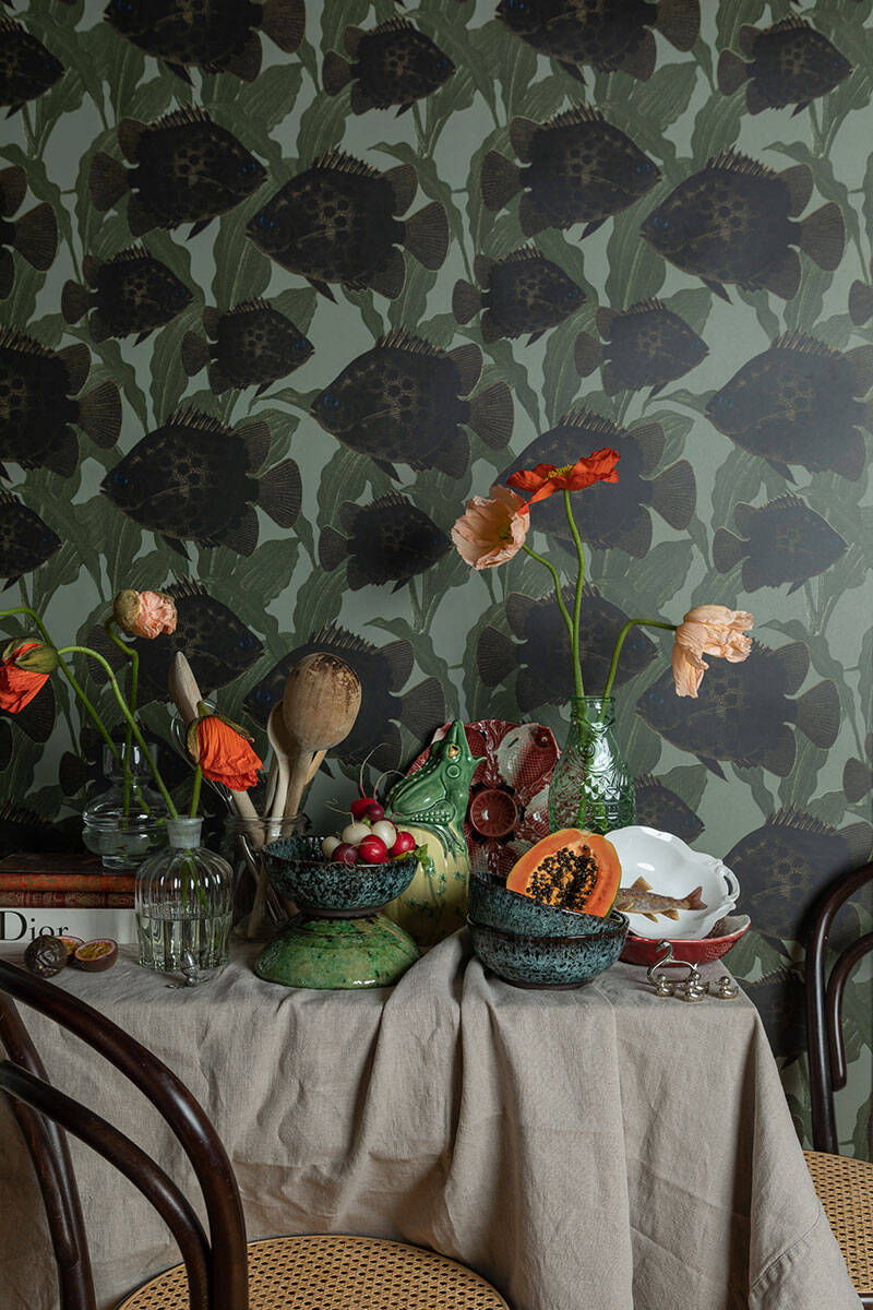 Inred med mönster och tapet – Lisa Bengtssons bästa tips