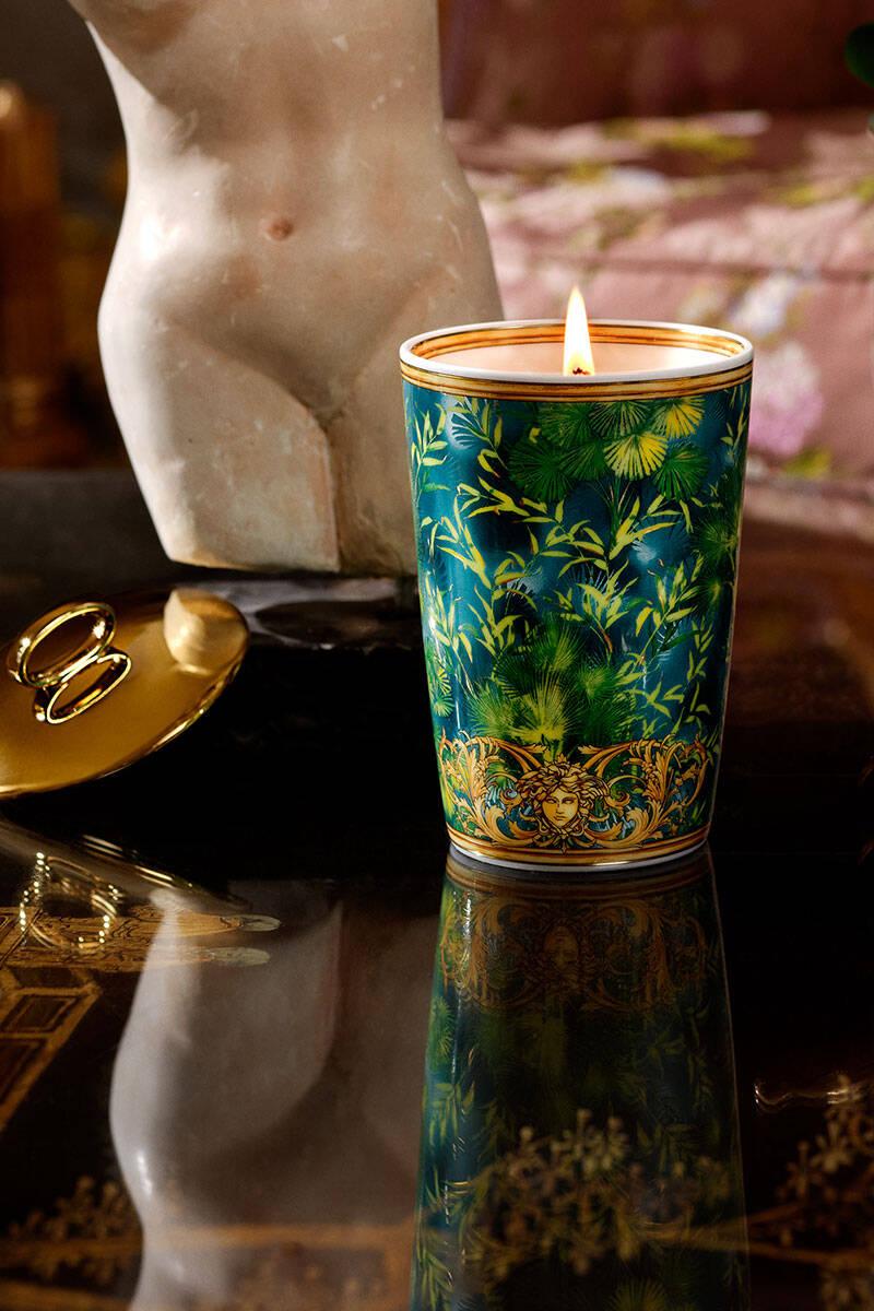 Spana in nya porslinskollektionen från Versace och Rosenthal