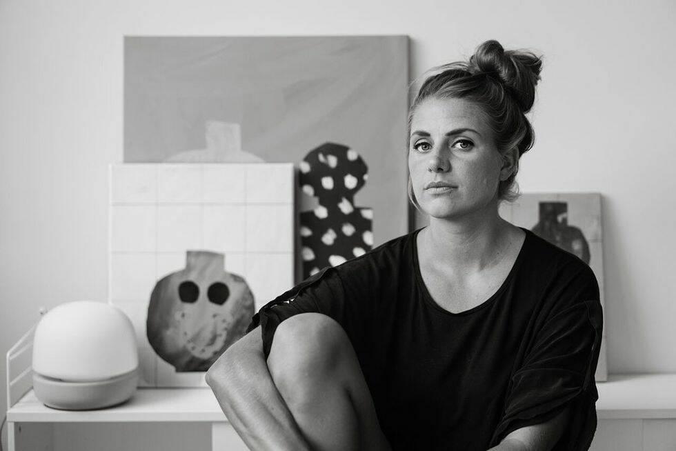 Från konst till tapet: Emilia Ilke om sitt nya samarbete med Sandberg Wallpaper