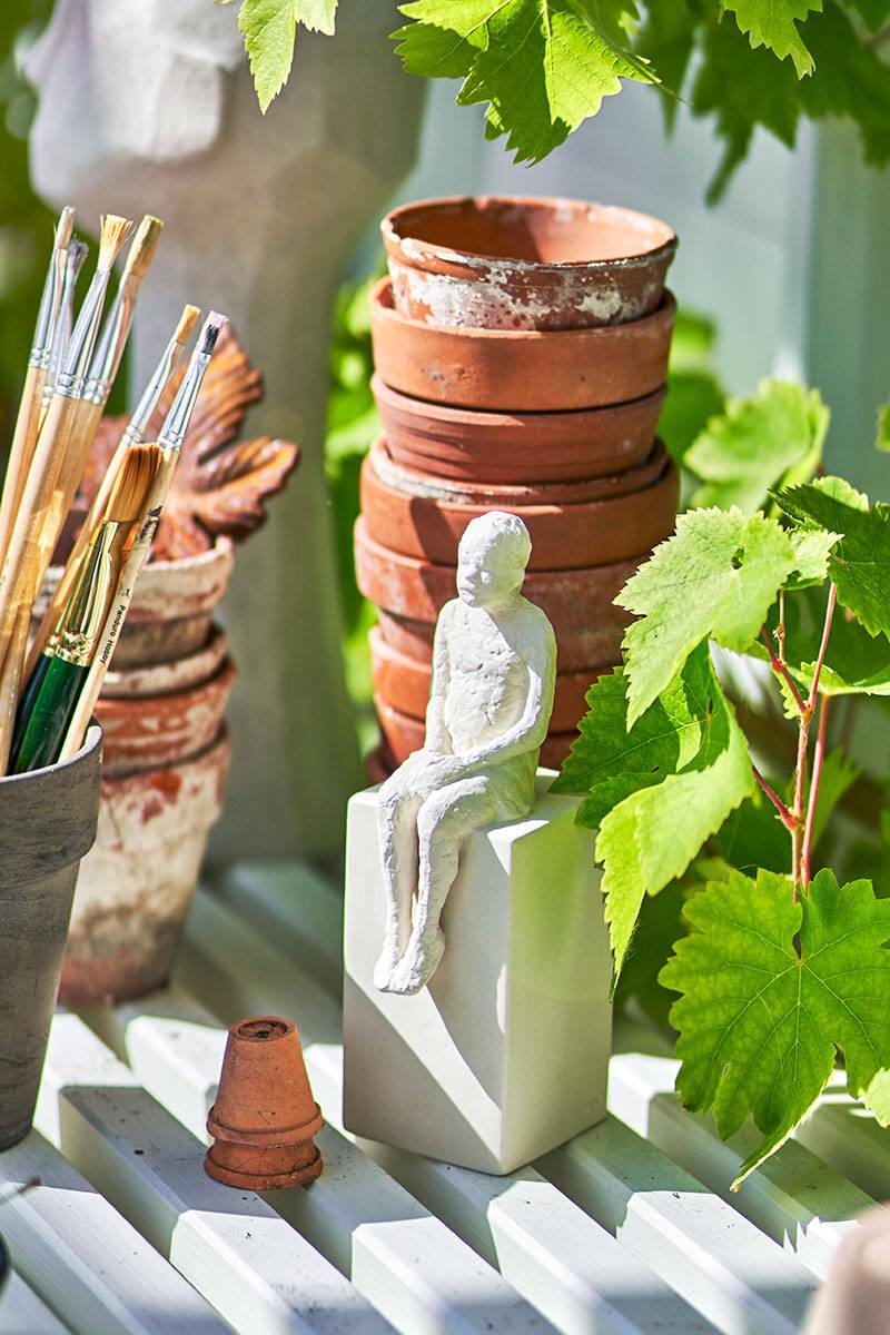 Förvandla växthuset till en blomstrande konstnärsateljé