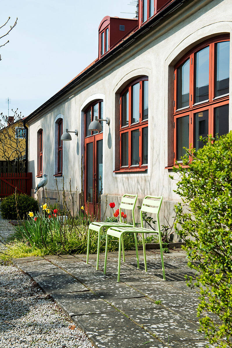 Från industrilokal till kreativ oas – kika in i huset på Österlen