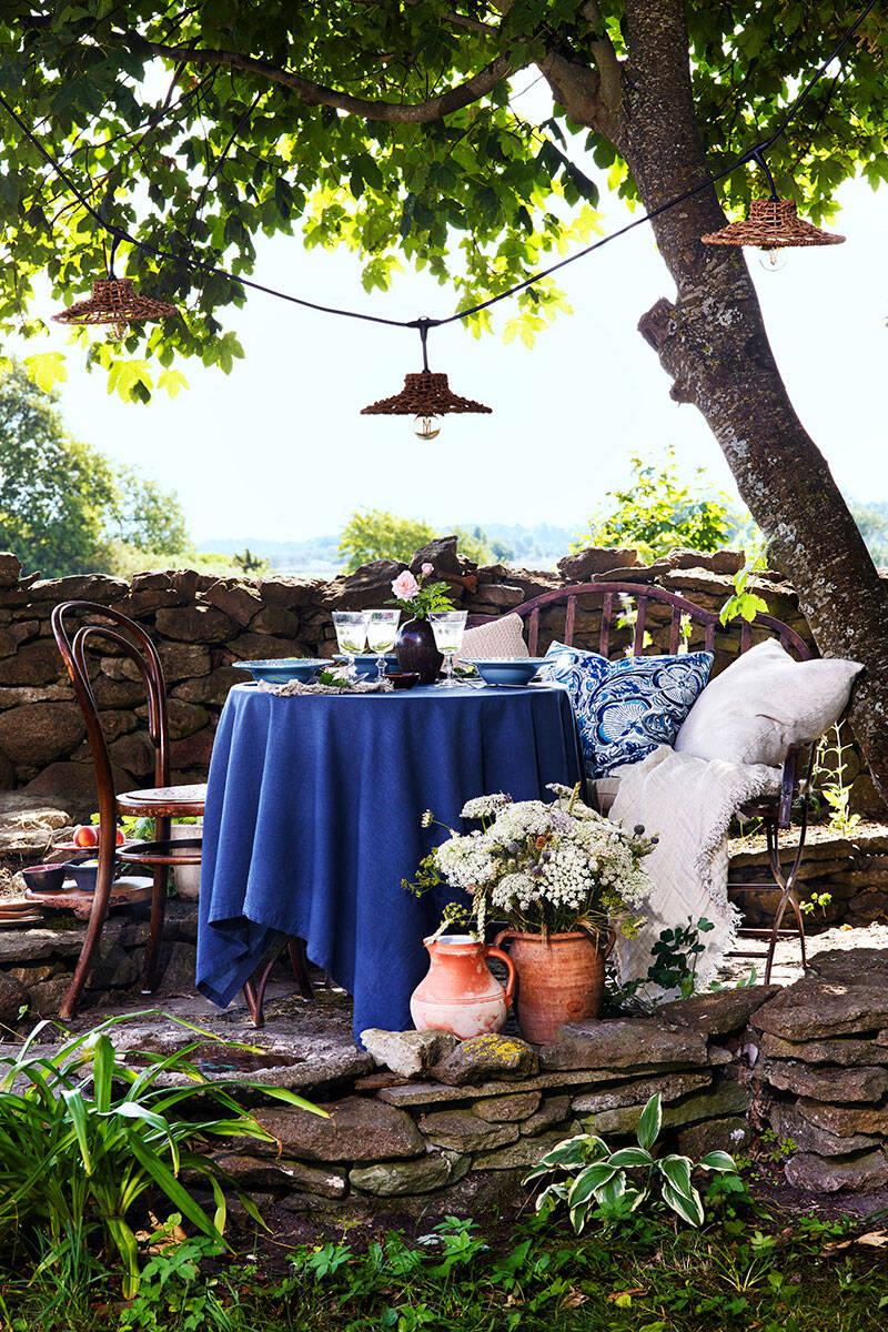 Inspiration: Skapa en vacker uteplats under bar himmel