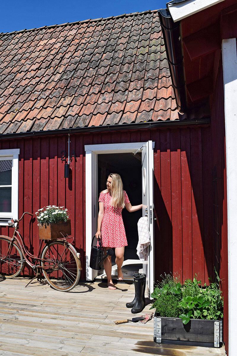 Slow living i Skånelängan från 1700-talet