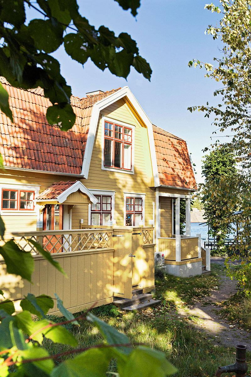 Inredningsdröm i skärgården – inspireras av huset i Sandhamn