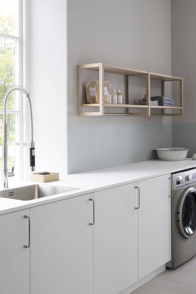 7 snyggt inredda tvättstugor att inspireras av