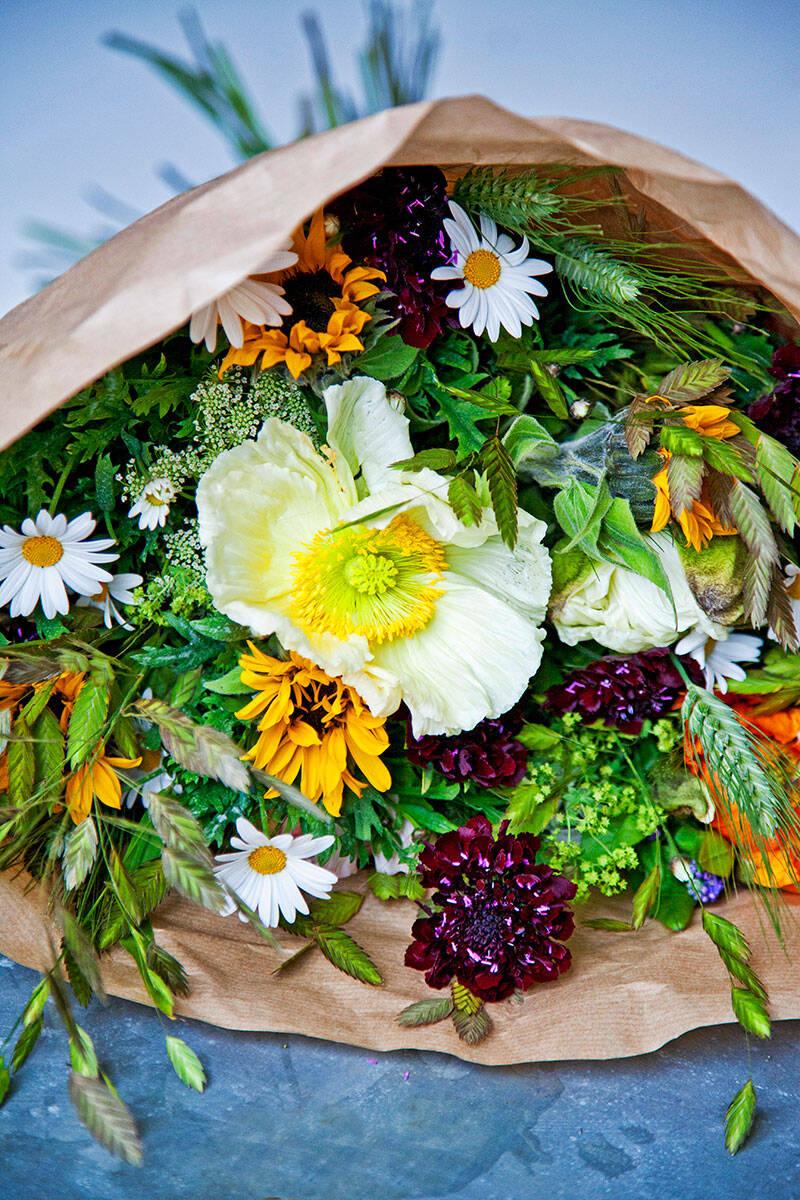 Floristens bästa tips: Så binder du en vild trädgårdsbukett