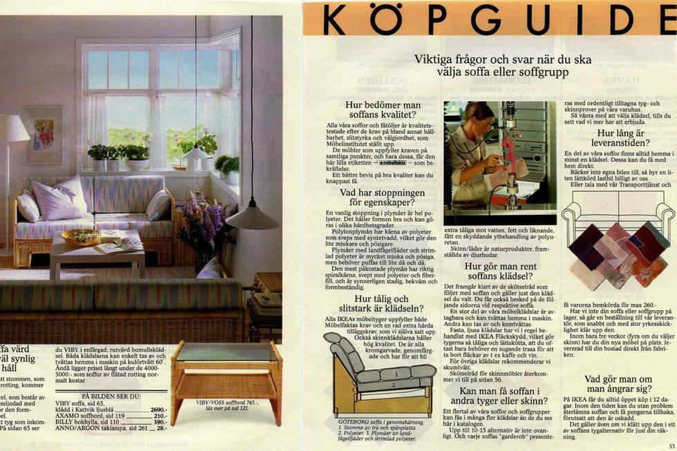 Nu kan du se alla Ikea-kataloger online – från 1950 till 2021