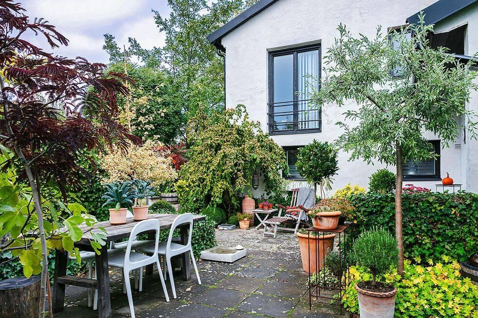 Vacker höstträdgård på Gotland – skapagröna rum för alla årstider