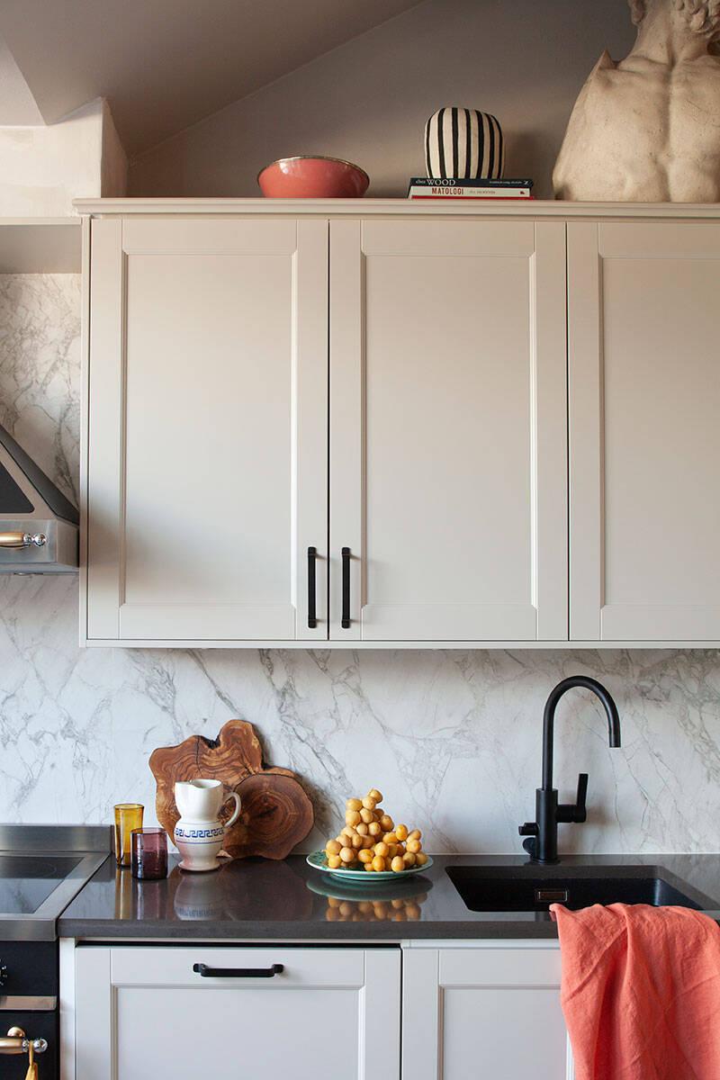 Kika in i Melimeli-grundaren Amelia Widells vackra kök