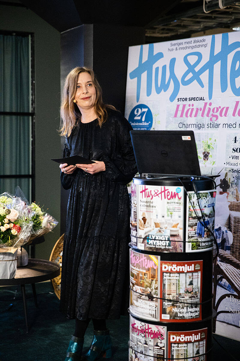 Stora stylingkvällen: Se bilderna och när Karl Fredrik Gustafsson utses till Årets inredningsinspiratör