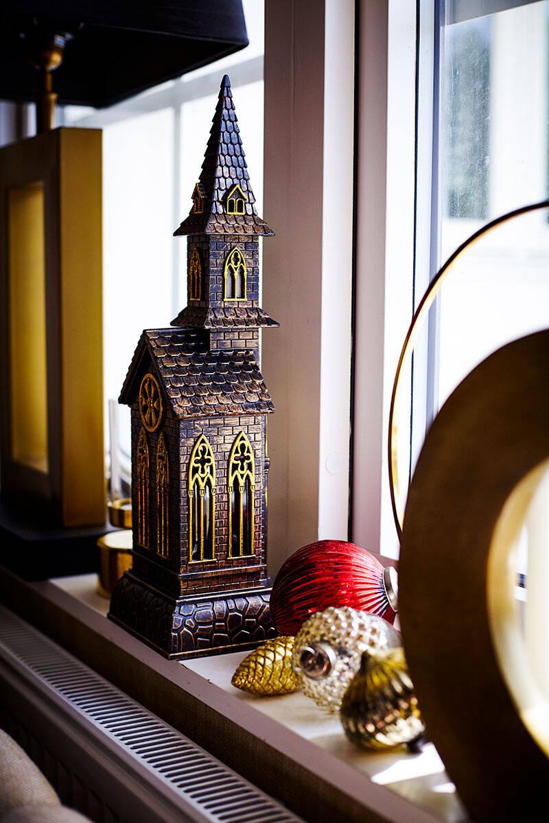 Ombonat, lyxigt och extra allt – så ser julen ut hos familjen Lind-Bagge