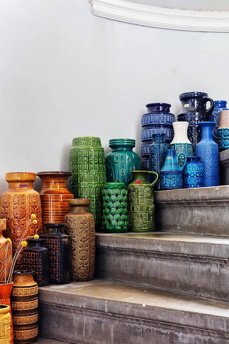 Italiensk glamour hemma hos antikhandlaren
