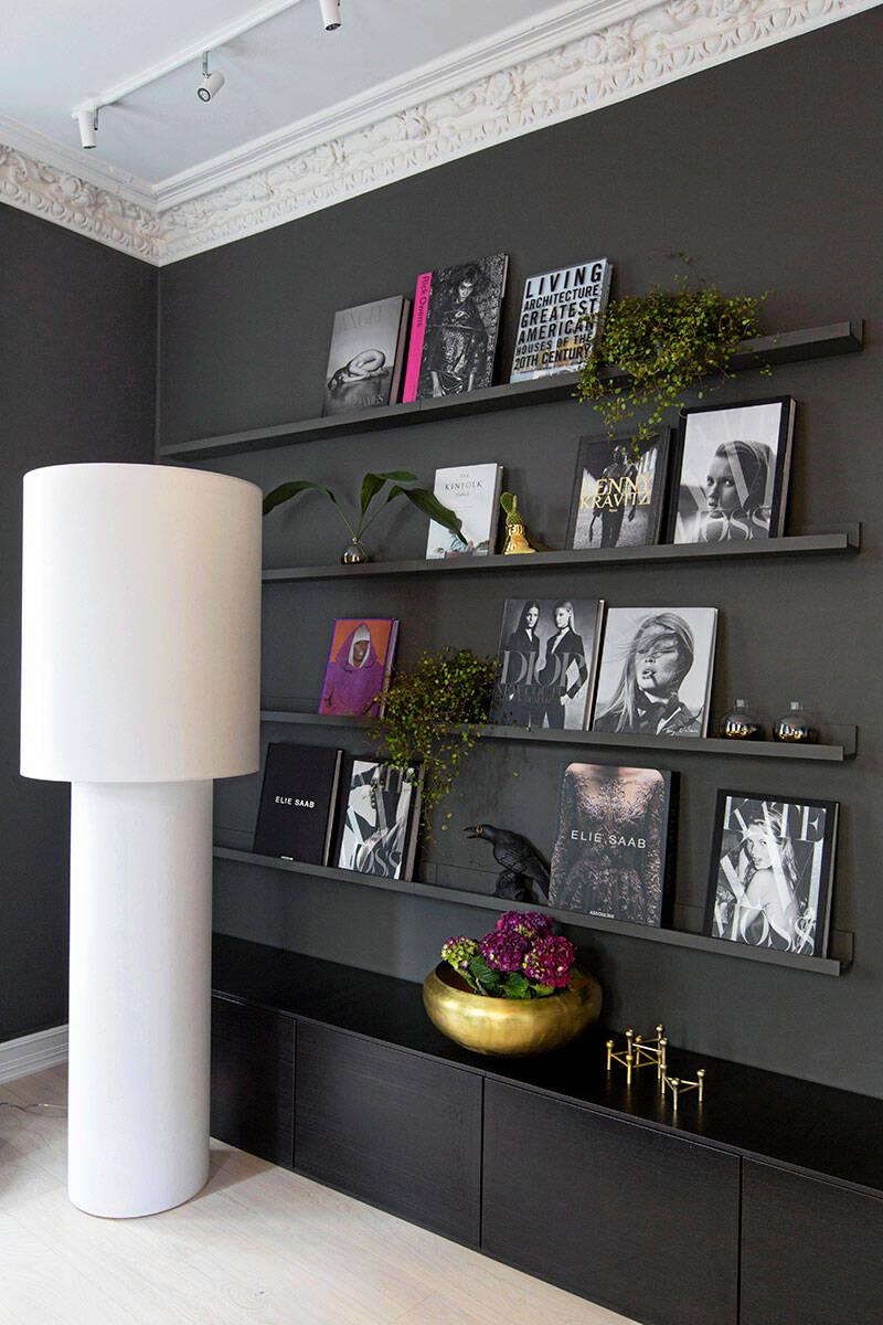 Mörka färgval och stilrena lösningar –kika in