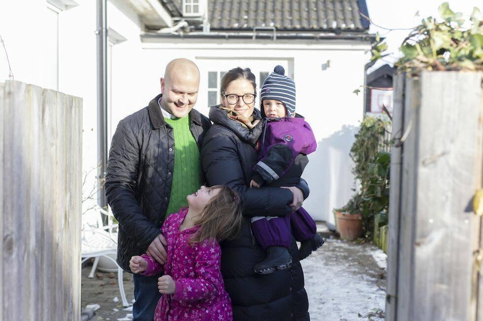 Familj fick makeover av hallen – med hjälp av experter inom förvaring och inredning/Feng Shui