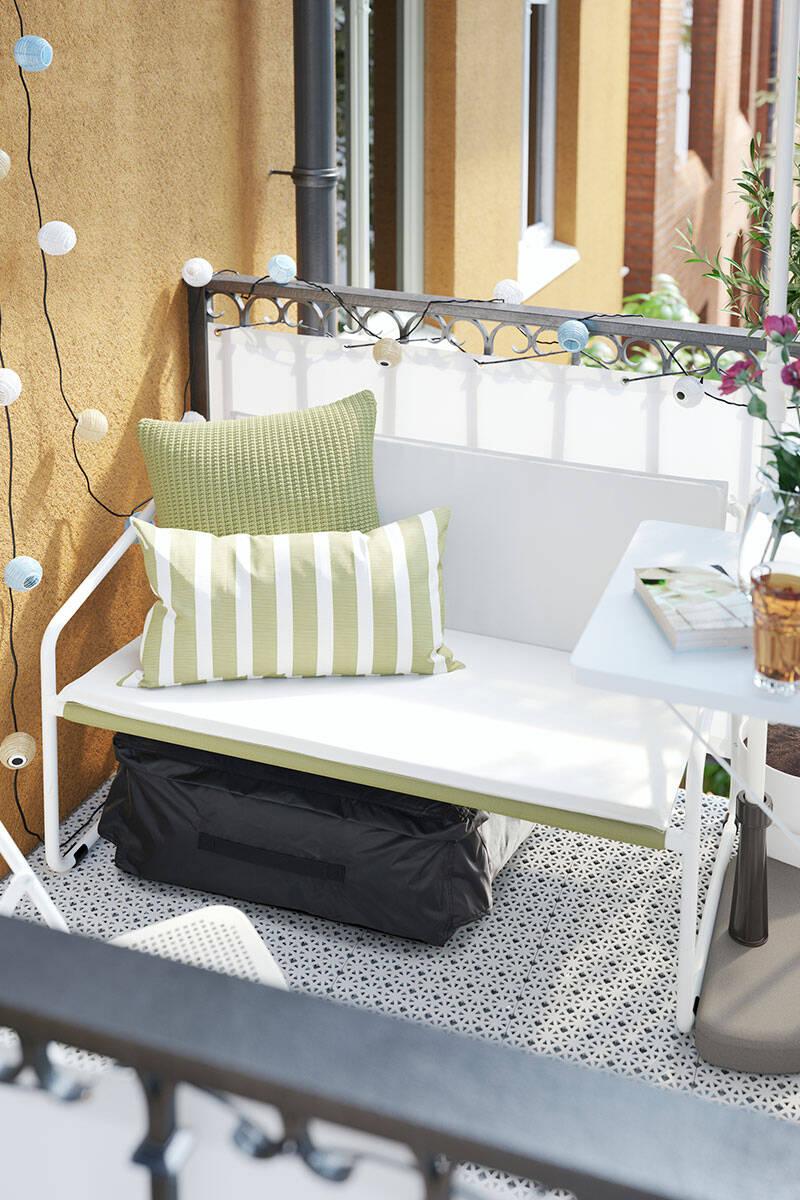 12 snygga uteplatser och balkonger att inspireras av