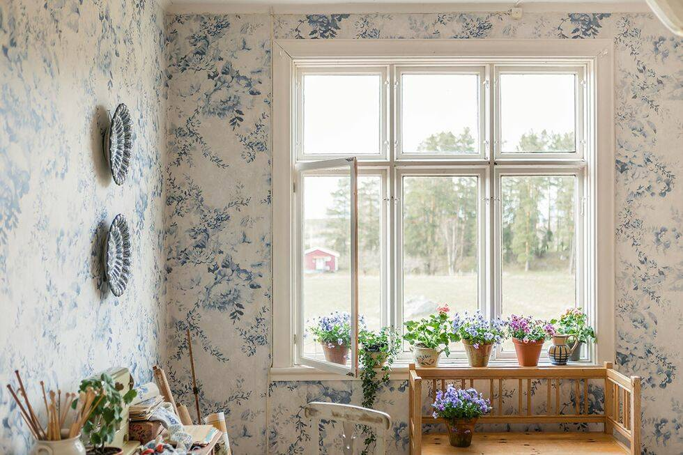 Blomstrande tapeter från Perswall – nytt designsamarbete med Mokkasin
