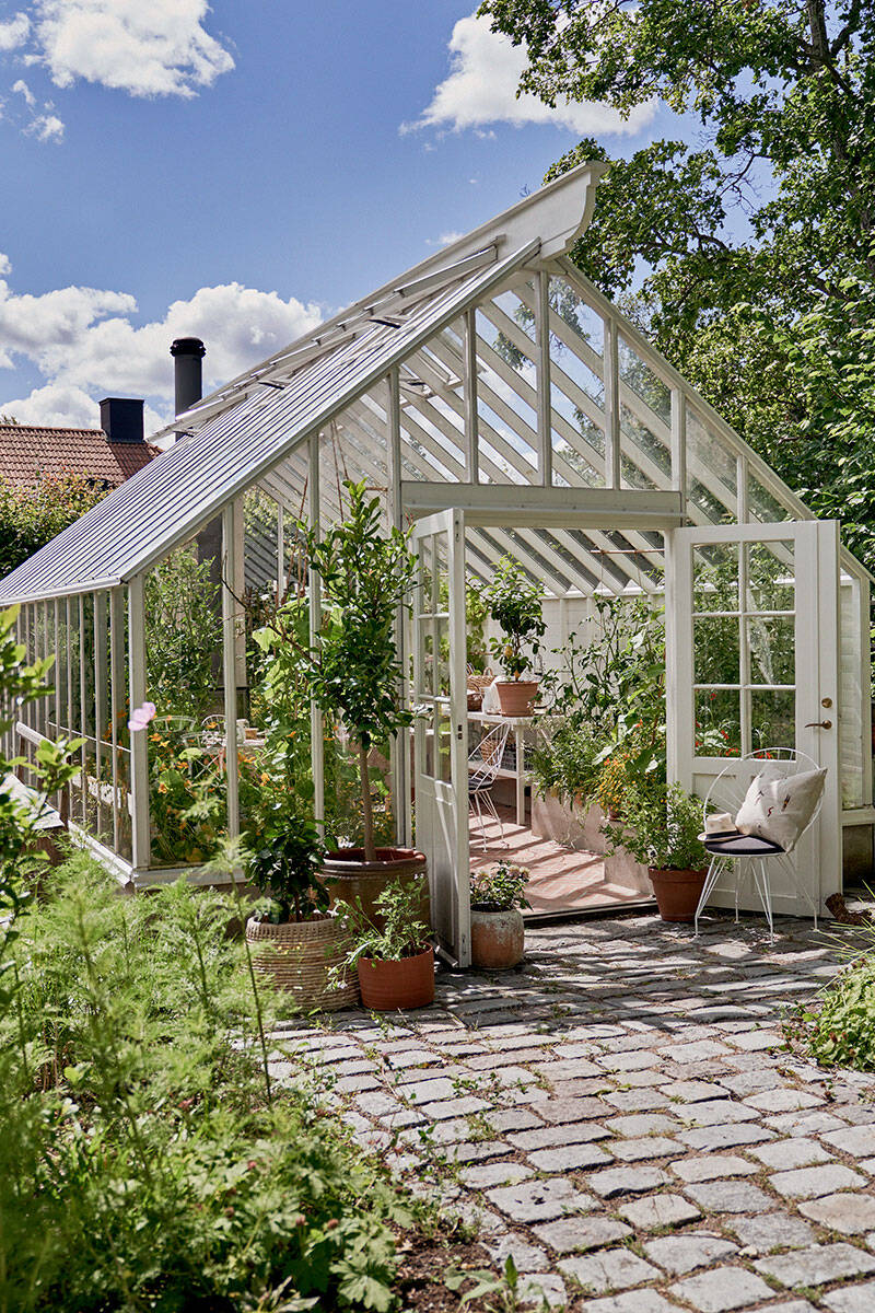 Inspiration: Duka vackert i växthuset
