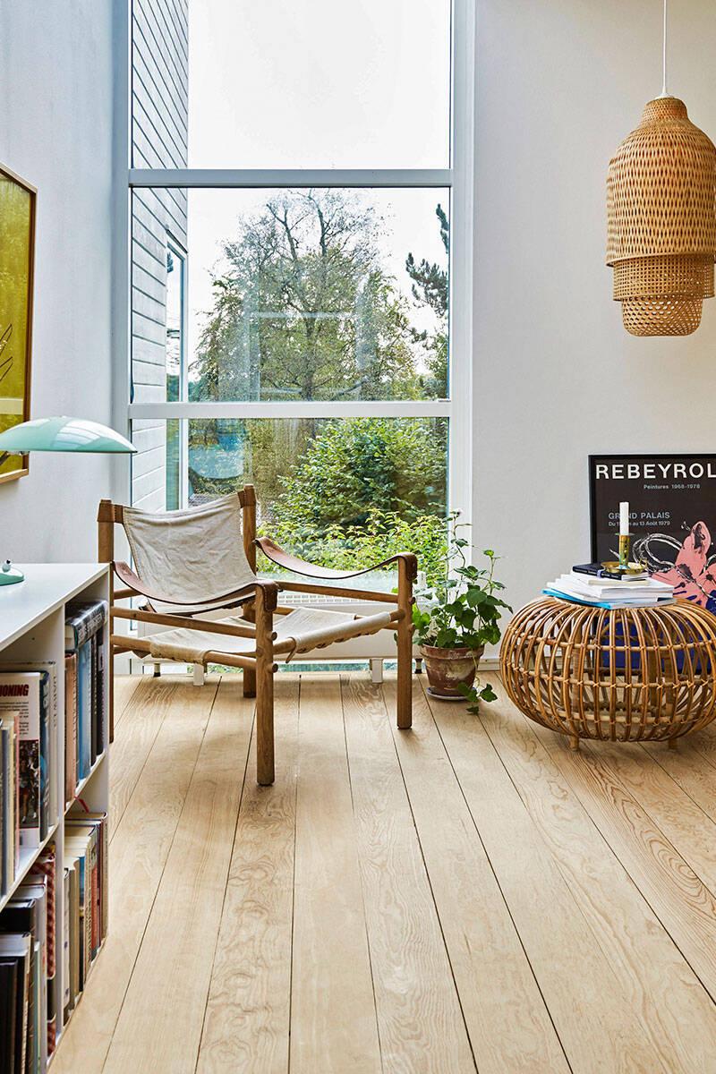 Skandinavisk minimalism i 80-talshuset