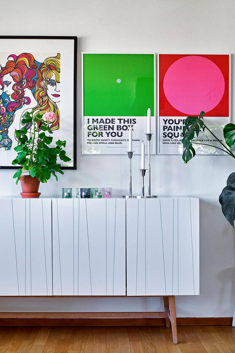 Unik vintage och modiga färgval hos Eco from the past-grundaren