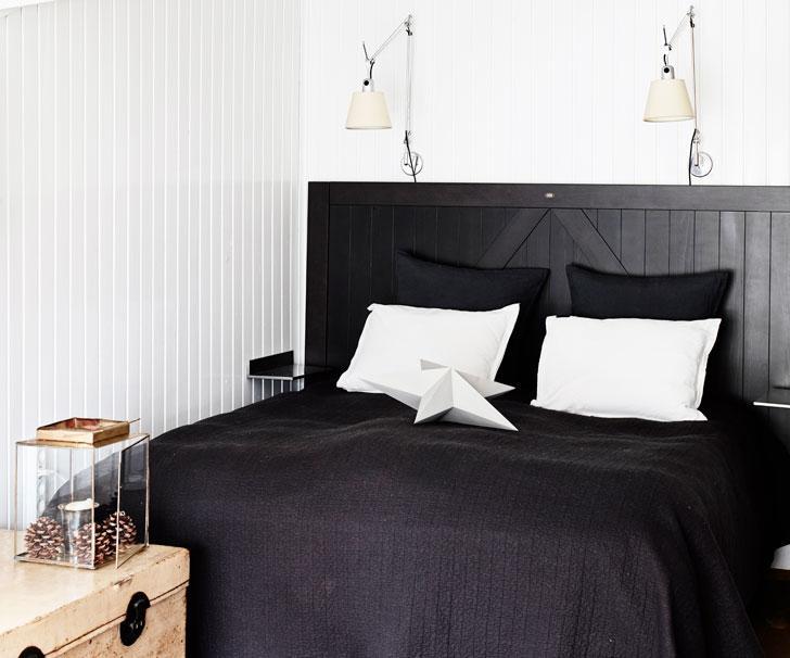 Snickra en rustik sänggavel