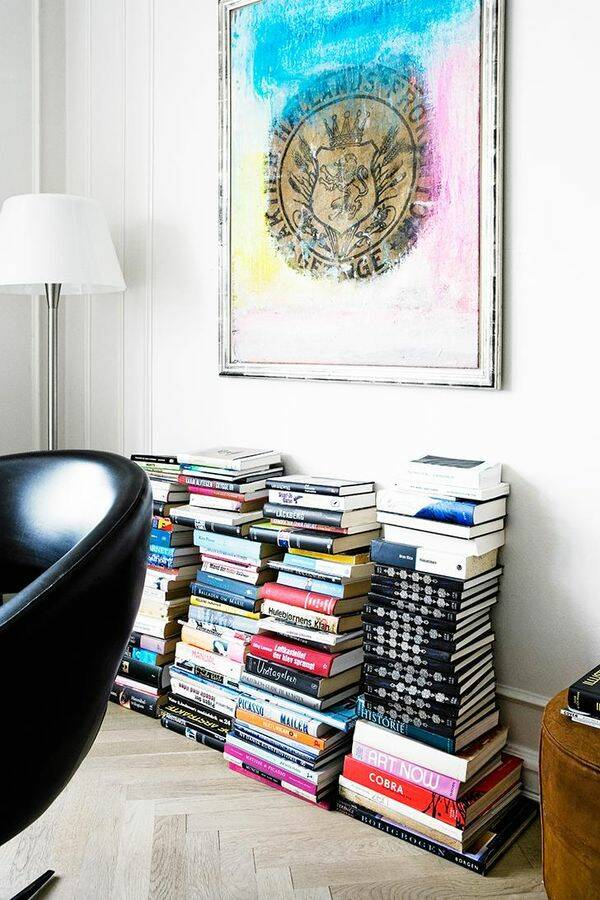 Låt böckerna tala – 10 tips på fiffig bokförvaring