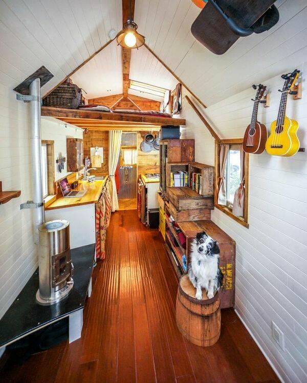 17 kvadratmeter imponerande minihus på hjul