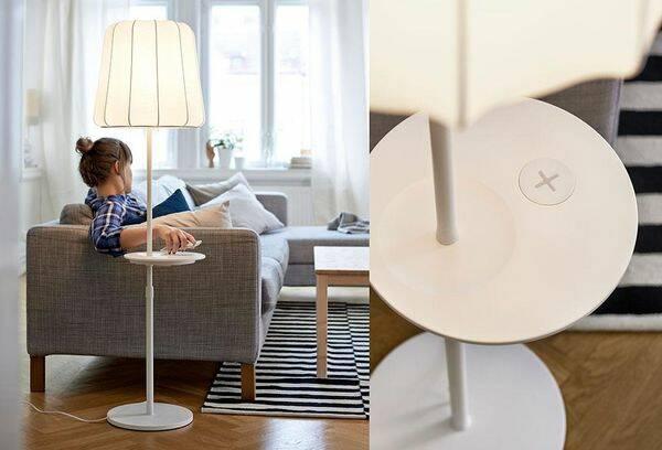 Nu kan du ladda din telefon på lampan – jo, det är faktiskt sant