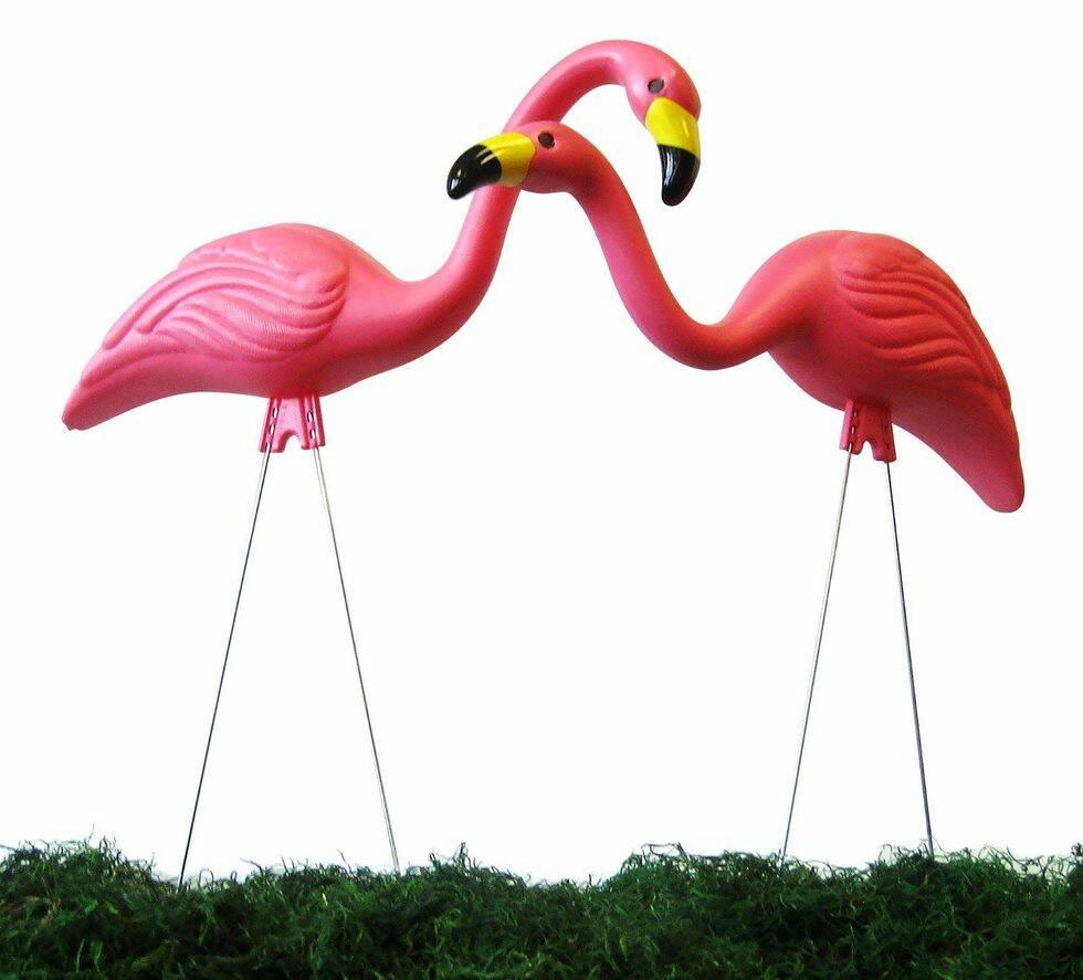 Den rosa flamingons skapare har gått ur tiden