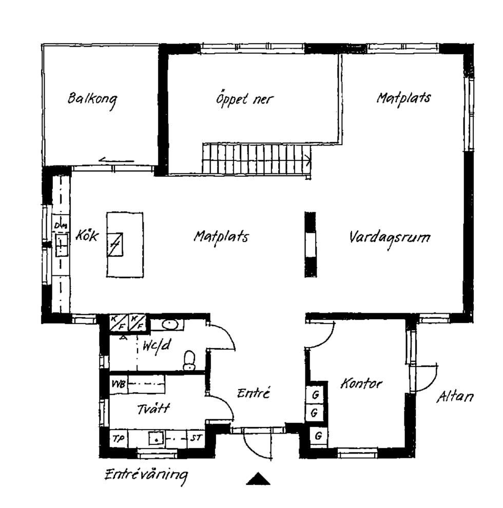 Huset med havsutsikt från alla rum