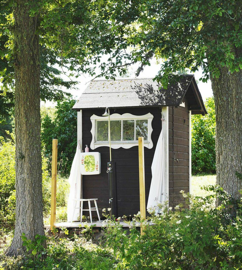 I sommarhuset på Gotland får allting ta sin tid