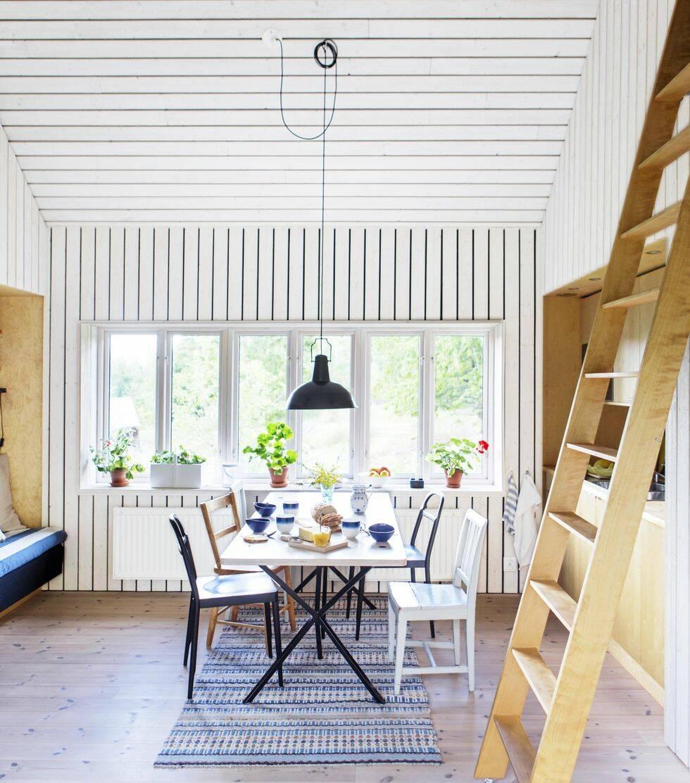 Smart lösning: Huset som går att stänga in helt