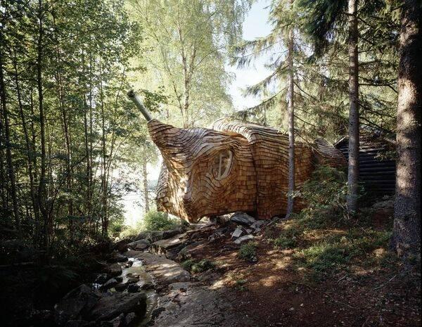 Sveriges mest udda fritidshus är till salu