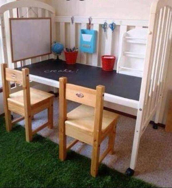 12 fina och enkla gör det själv-idéer till barnrummet