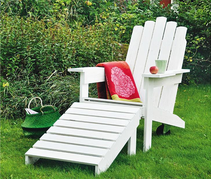 Adirondackstol – den perfekta stolen för lata dagar